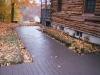 Cobblestone Stampcrete Walkway